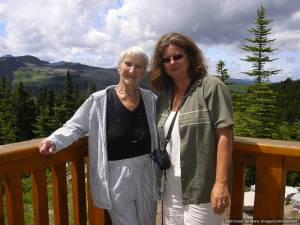 Dorothy and I at Mt. Washington