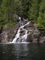 Waterfall near Loughborough Inlet